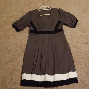 Calvin Klein pleated A line dress